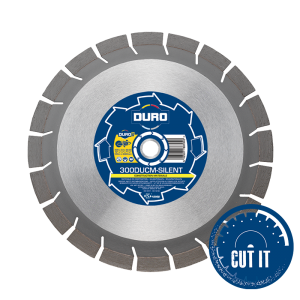 Duro Ultra DUCM-SILENT Diamond Blades for construction materials