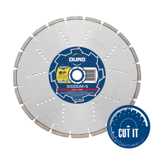 Duro Ultra DUM+S Diamond Blades for cutting metal and stone