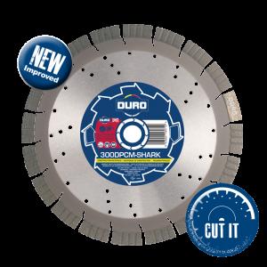 DPCM-SHARK Duro Plus Diamond Blades for Construction Materials