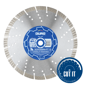 300DBSM-PT15 diamond blade