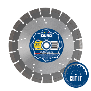 Duro Ultra DUA-C Diamond Blades for concrete / asphalt / metal hard materials