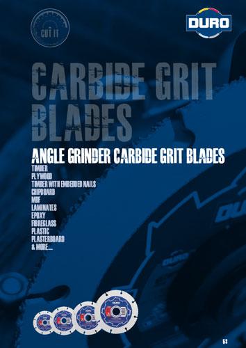 Duro Carbide Grit Blades