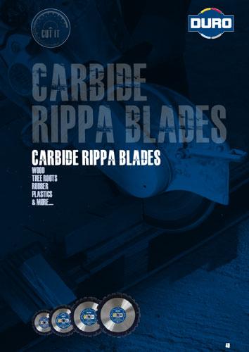 Duro Carbide Rippa Blades