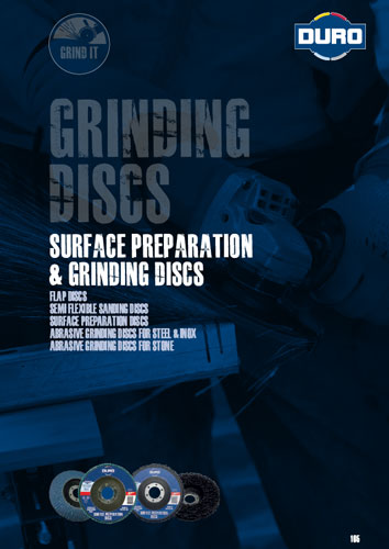 Duro Surface Preparation & Grinding Discs