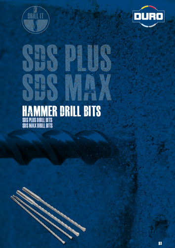 Duro SDS Plus & SDS MAX Hammer Drill Bits