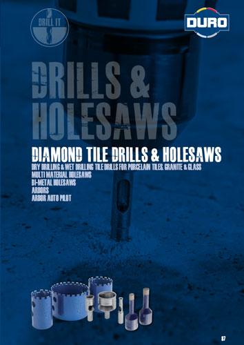 Duro Diamond Tile Drills & Holesaws